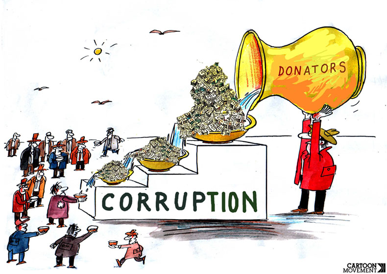 corruption and politics Zephyr teachout's important new book reminds us that corruption—in its more expansive sense of excessive private interest undermining public virtue—poses very real risks to a functioning democracy, risks that were foreseen at the founding, and that have preoccupied politicians, statesmen, and jurists for the entire course of our nation.