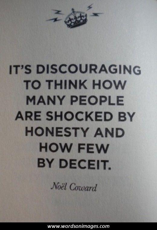 Dishonesty Quotes  Quotesgram