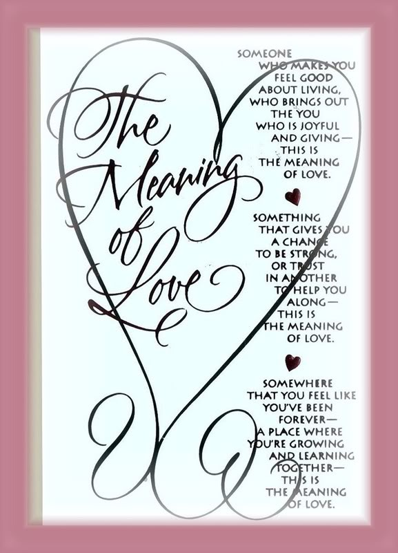 The Meaning Of I Love You Quotes: Meaning Of True Love Quotes. QuotesGram