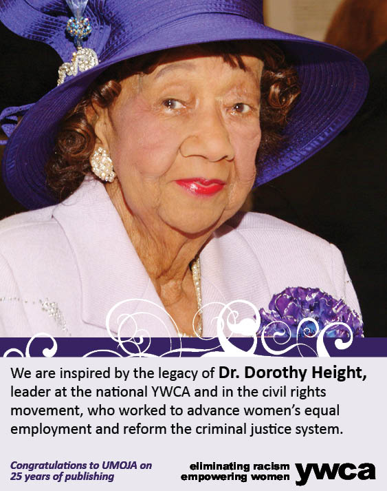 dorothy height Dr dorothy height has inspired generations of americans to believe that our  country can still make manifest its pledge to be one nation under god  with  liberty.