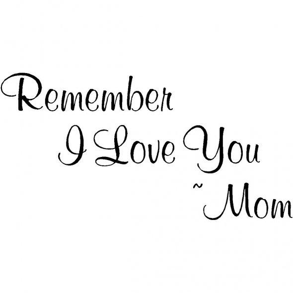 Love Mummy Quotes: I Love My Mom Quotes. QuotesGram