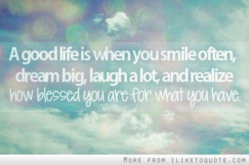 Blessed Life Quotes. QuotesGram