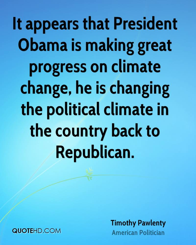 Obama Climate Change Quotes Quotesgram