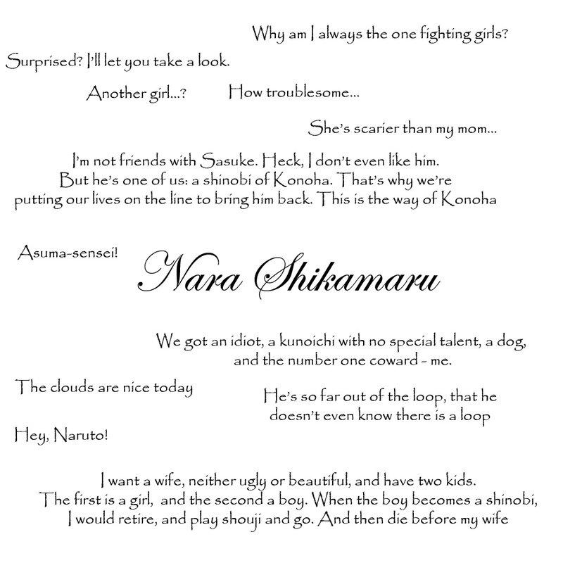 Shikamaru Quotes. QuotesGram