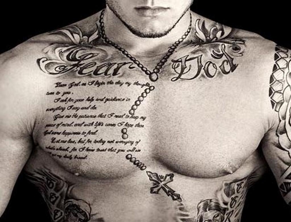 Best Chest Tattoo Quotes Quotesgram