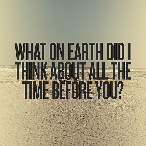All The Time I Think About You Quotes. QuotesGram