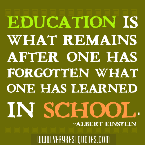 Inspirational Quotes For Elementary School: Inspirational Quotes About School. QuotesGram