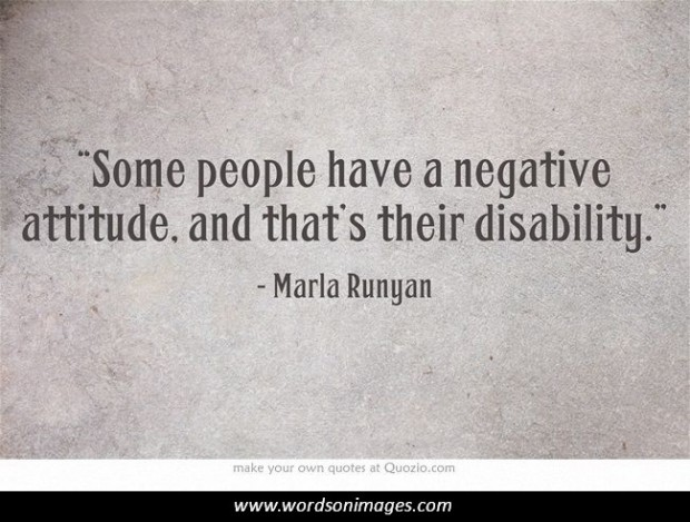 Quotes About Negative Attitudes. QuotesGram