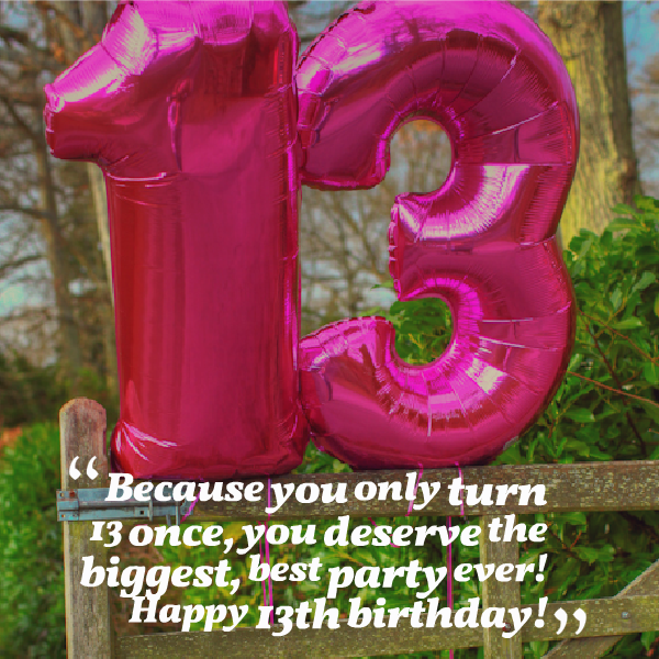 Quotes For Girls 13th Birthday. QuotesGram