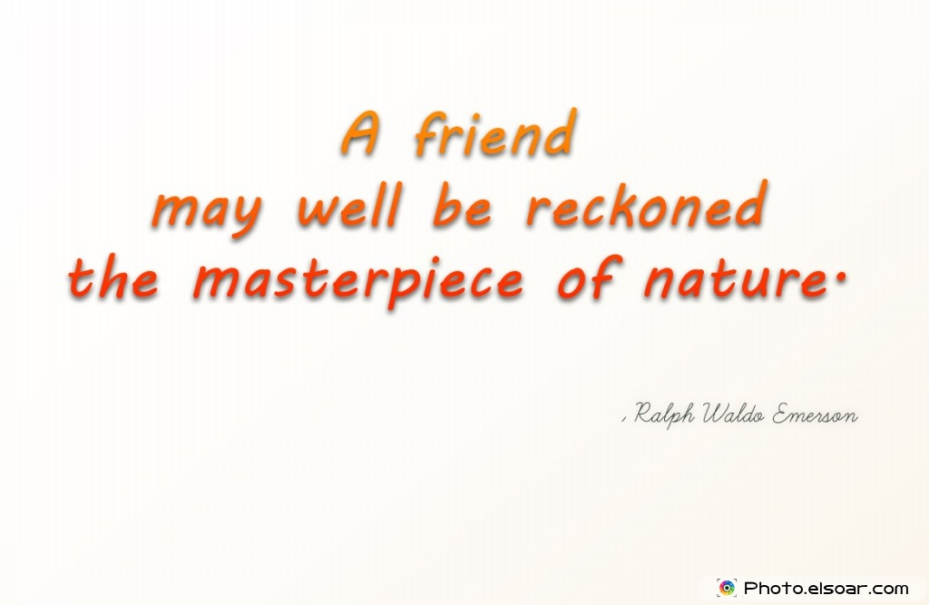 emersons essay on friendship