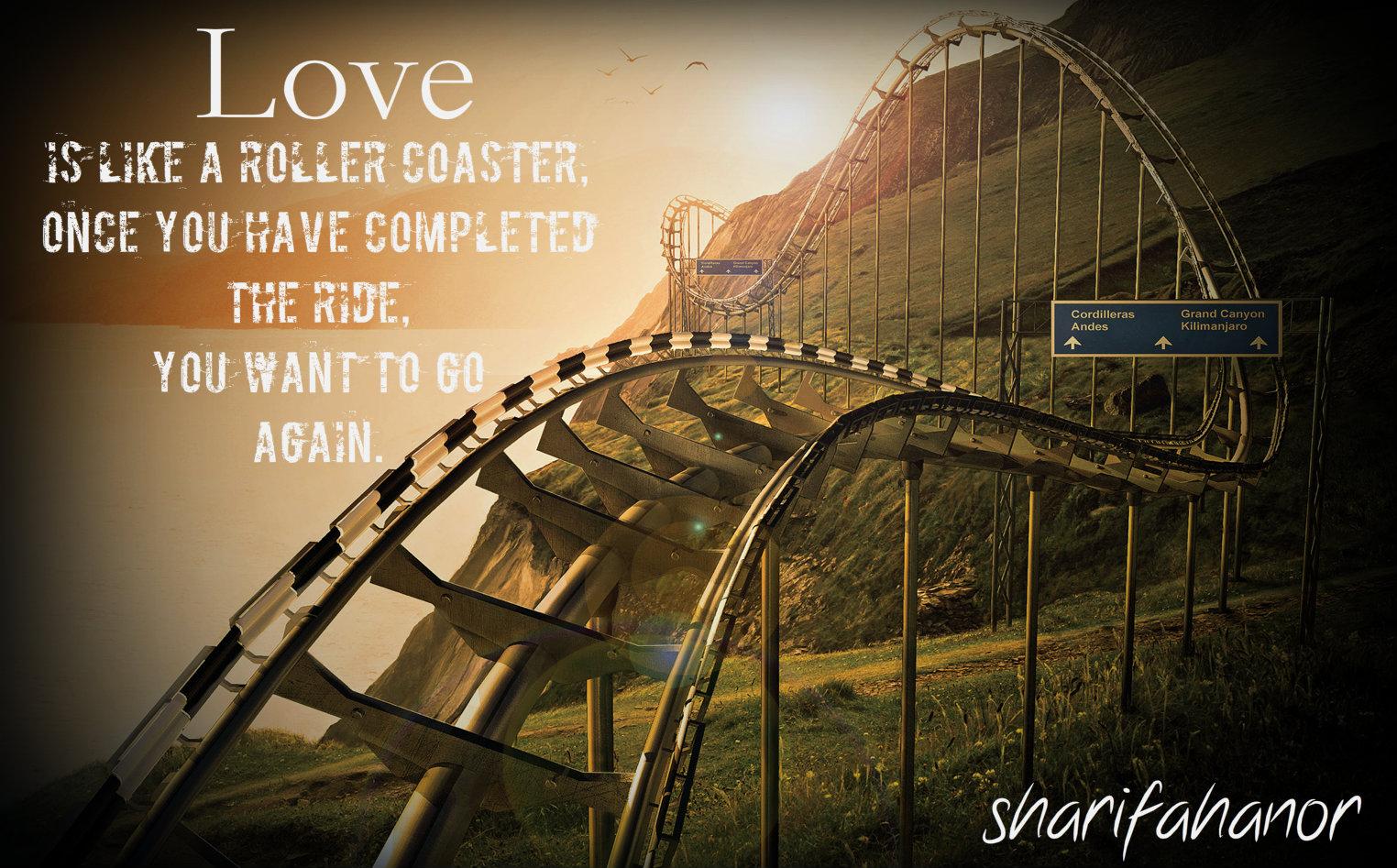Roller Coaster Relationship Quotes. QuotesGram