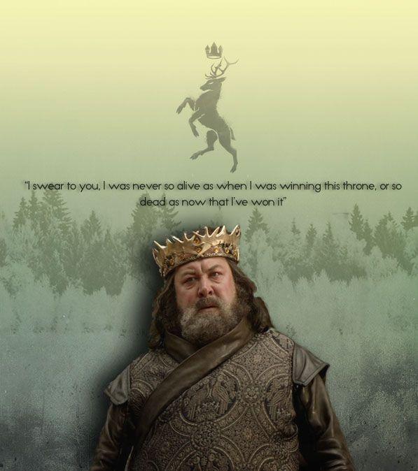 Robert Baratheon: Robert Baratheon Quotes. QuotesGram
