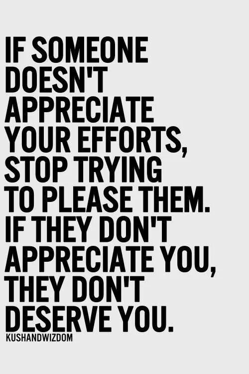 Don't Lose Your Dignity and Self-Respect Trying to Make ...  |Dont Appreciate Meme