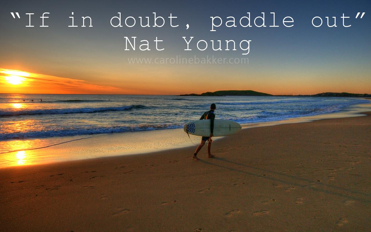 inspirational surfing quotes  quotesgram