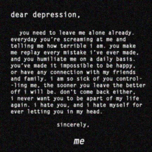 Sad Quotes About Depression: Depression Quotes. QuotesGram