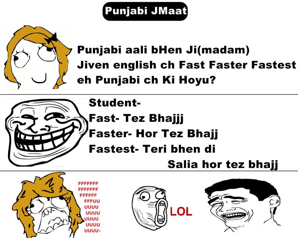 funny punjabi quotes written in english quotesgram