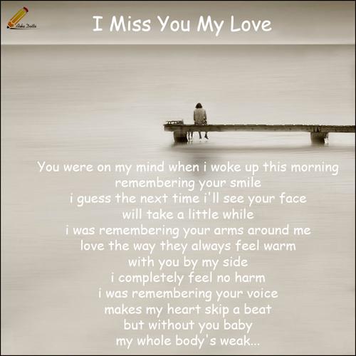Missing Your Love Quotes: Quotes Missing Your Love. QuotesGram