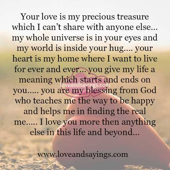 More Than You Love Life Quotes Quotesgram