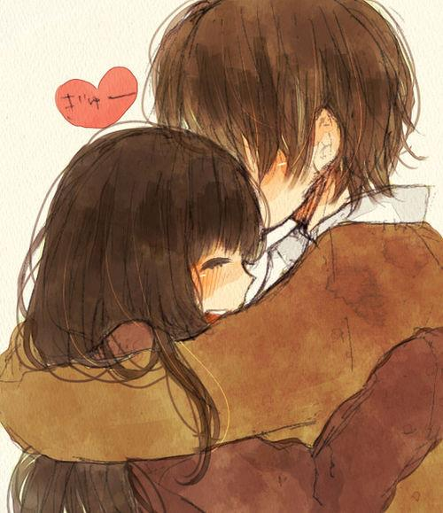 I Want To Cuddle With You Quotes: Cute Anime Couples Cuddling Quotes With. QuotesGram
