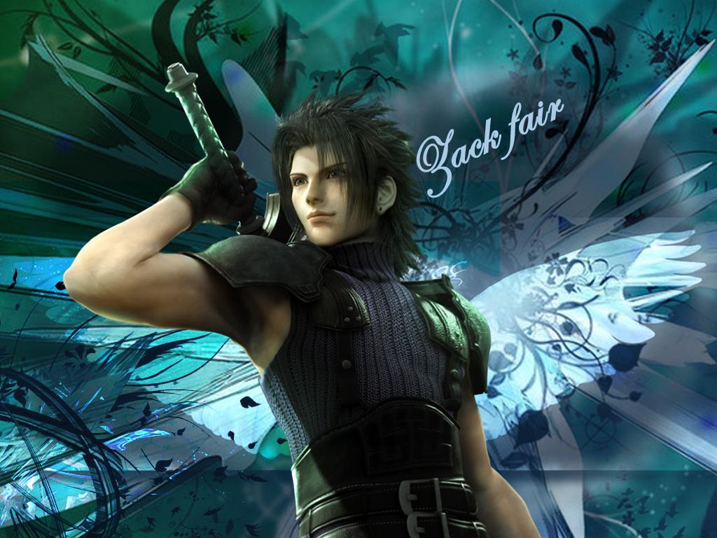 Crisis Core Final Fantasy VII  Zacks Death
