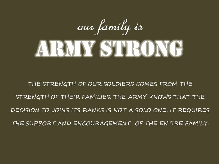 Army Strong Mom Quotes. QuotesGram