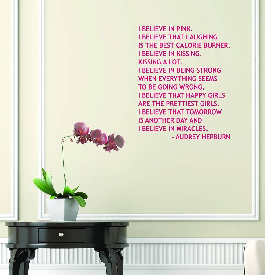 Movie Quotes Wall Decals Quotesgram