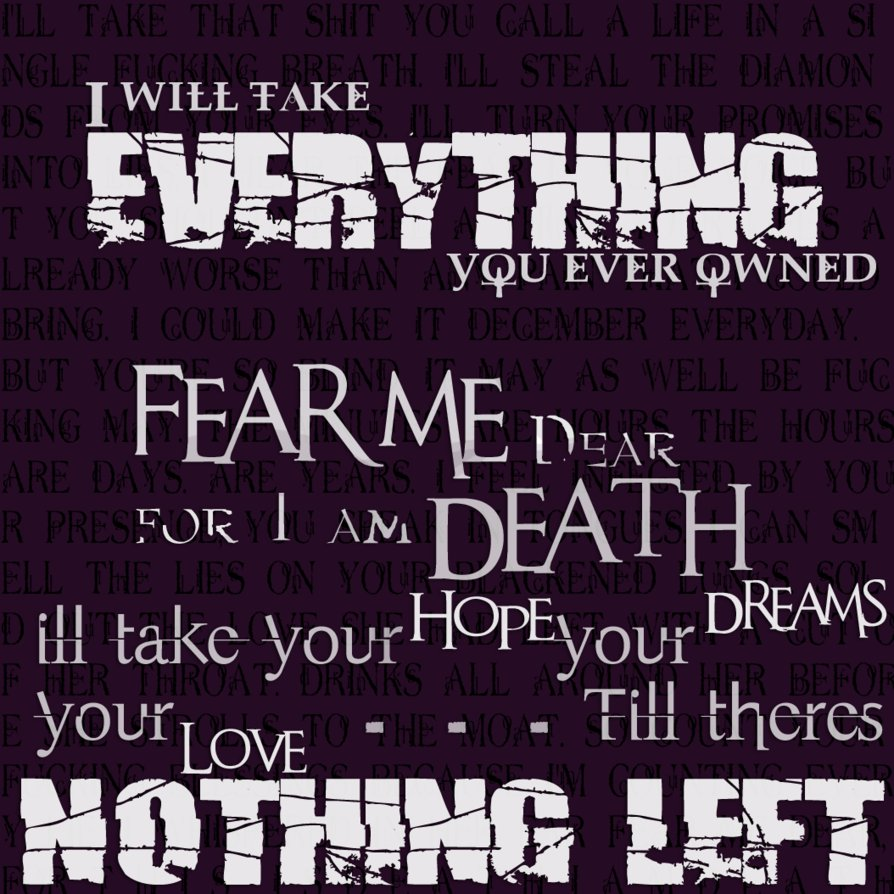 Bmth Quotes: Bmth Quotes Death. QuotesGram