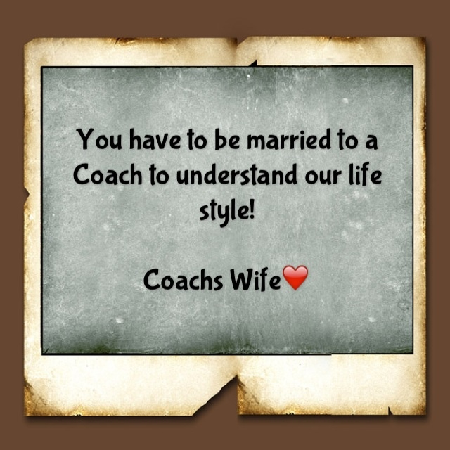 Famous Football Manager Quotes: Football Coach Wife Quotes. QuotesGram