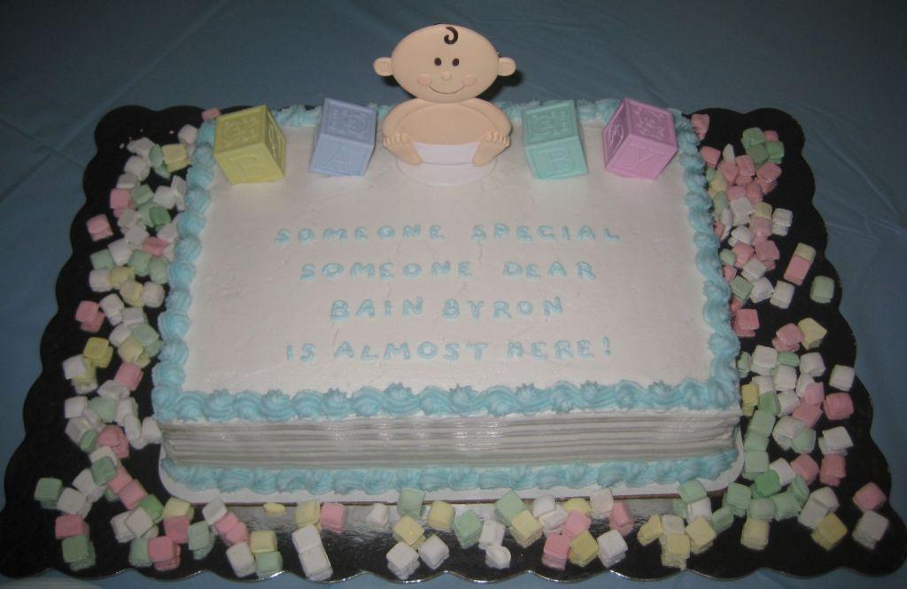 Boy Shower Cake Sayings