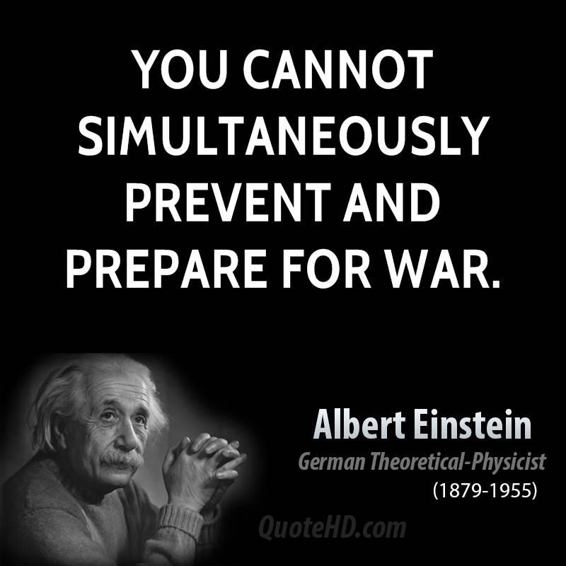 Quotes On War: Albert Einstein War Quotes. QuotesGram