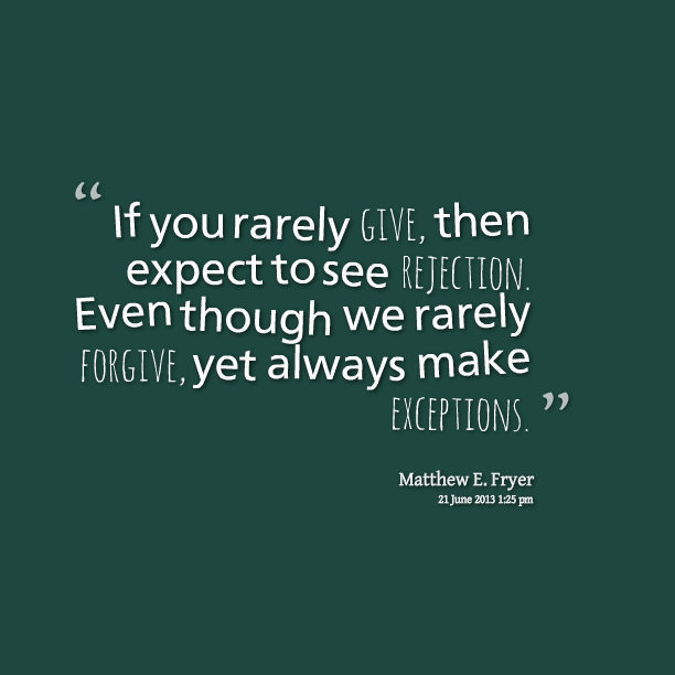 Quotes About Rejection In Love. QuotesGram