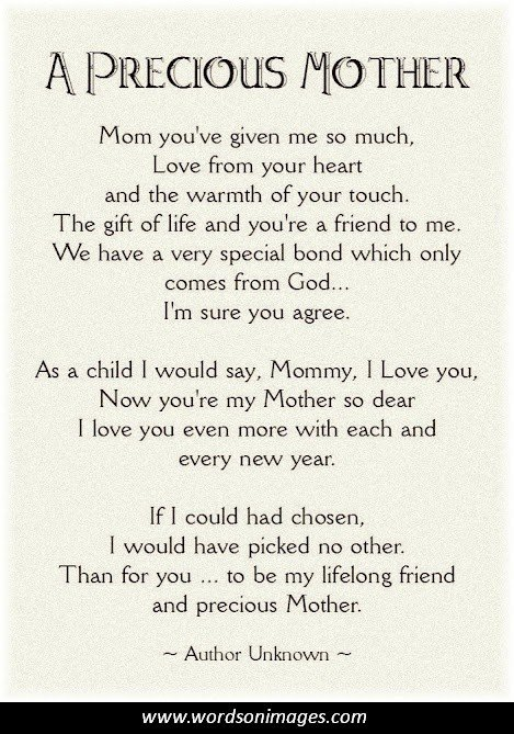 Funny Friend Sayings New Mom Poems And Quot...