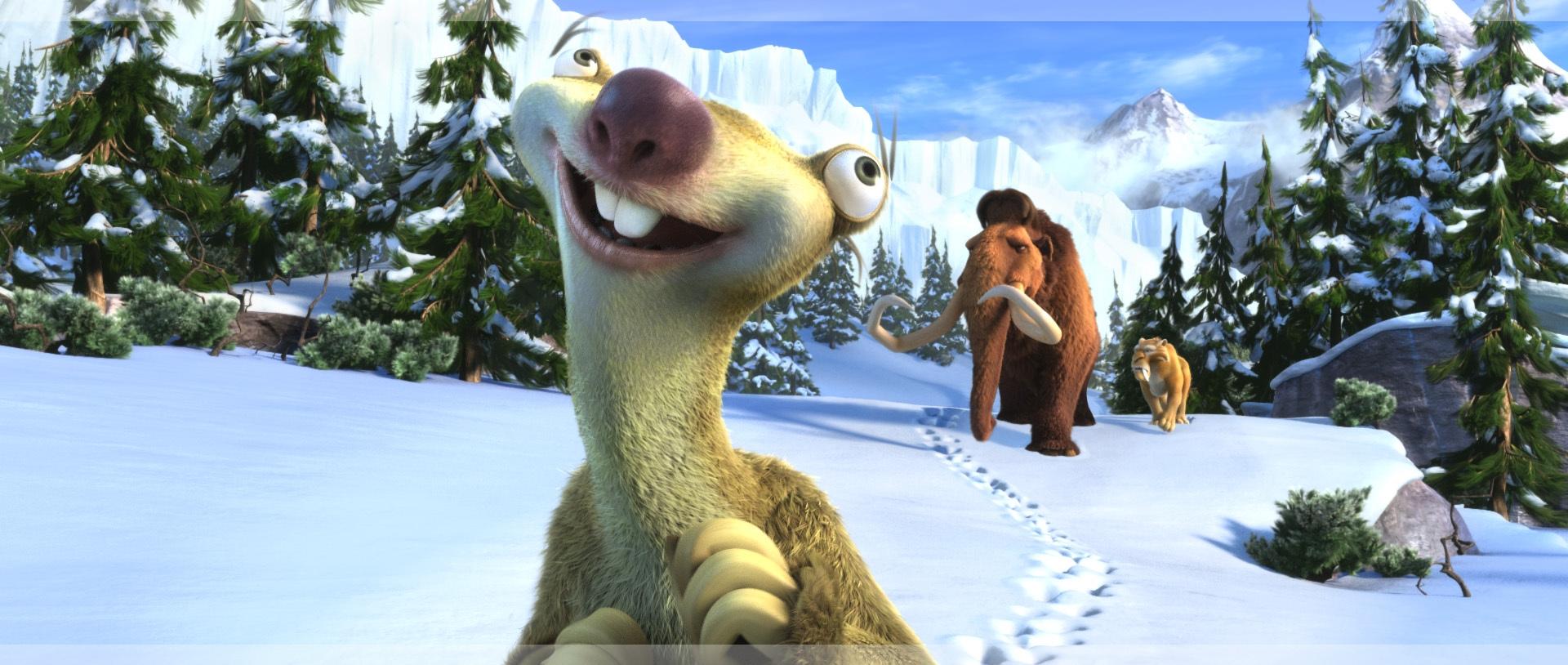 Sid the sloth smiling