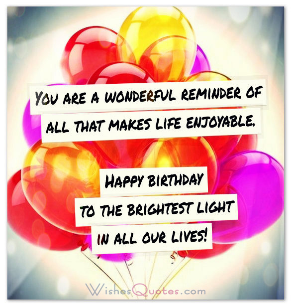 Inspirational Birthday Wishes: Happy Birthday Inspirational Quotes. QuotesGram