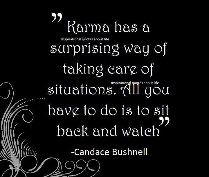 Bad Karma Quotes Sayings. QuotesGram