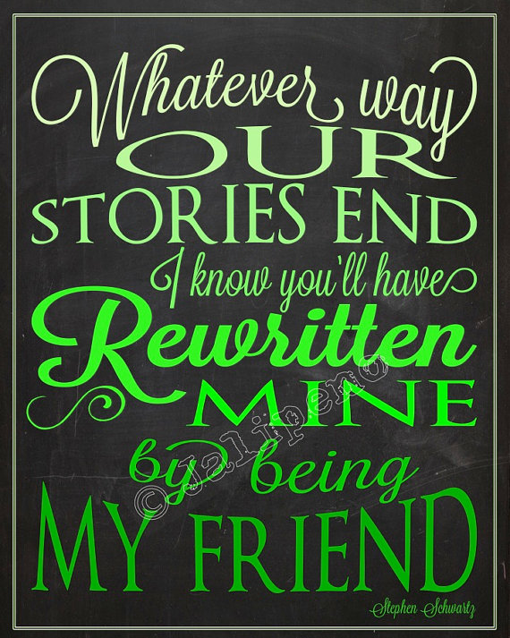 Famous Broadway Musical Quotes Quotesgram