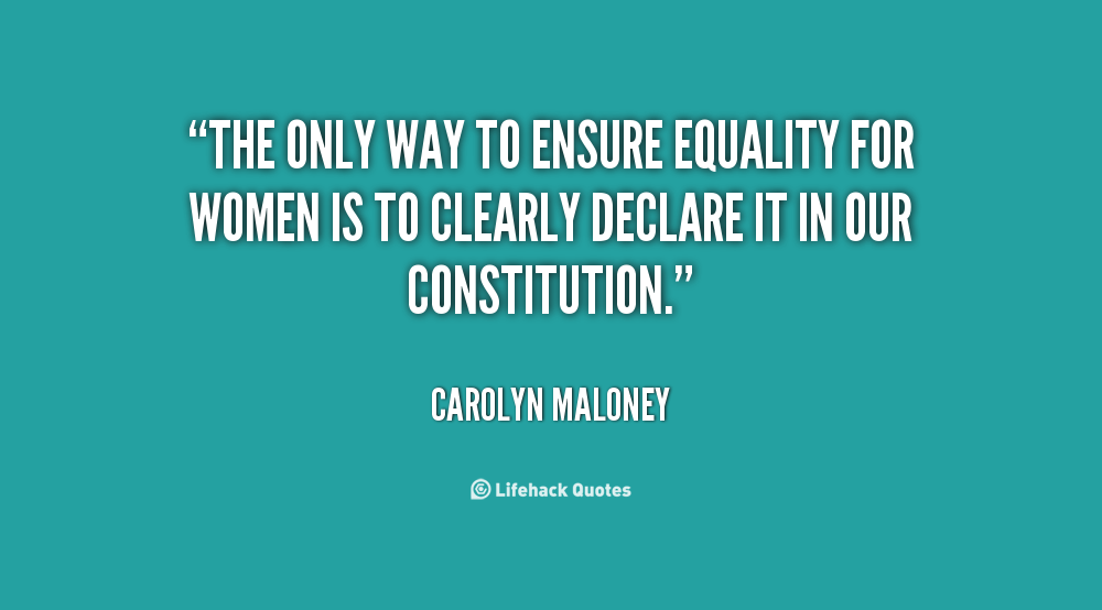 Inspirational Quotes About Equality. QuotesGram