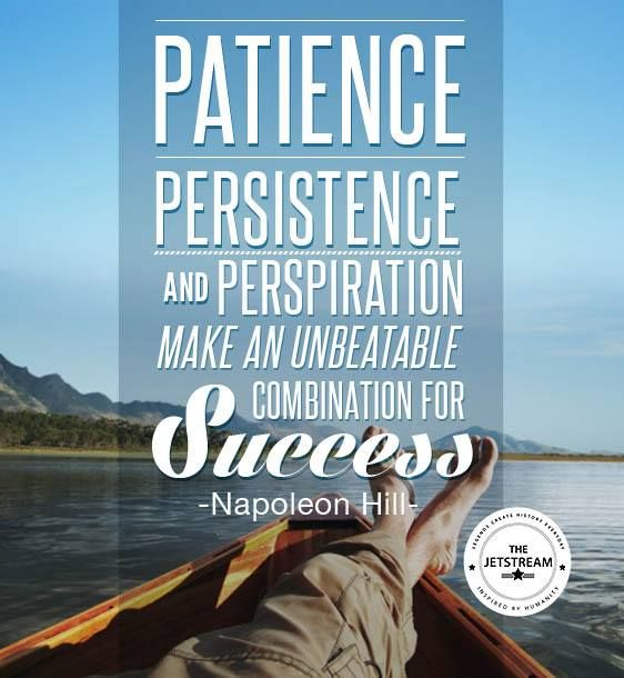 Quotes About Persistence: Quotes About Patience And Perseverance. QuotesGram