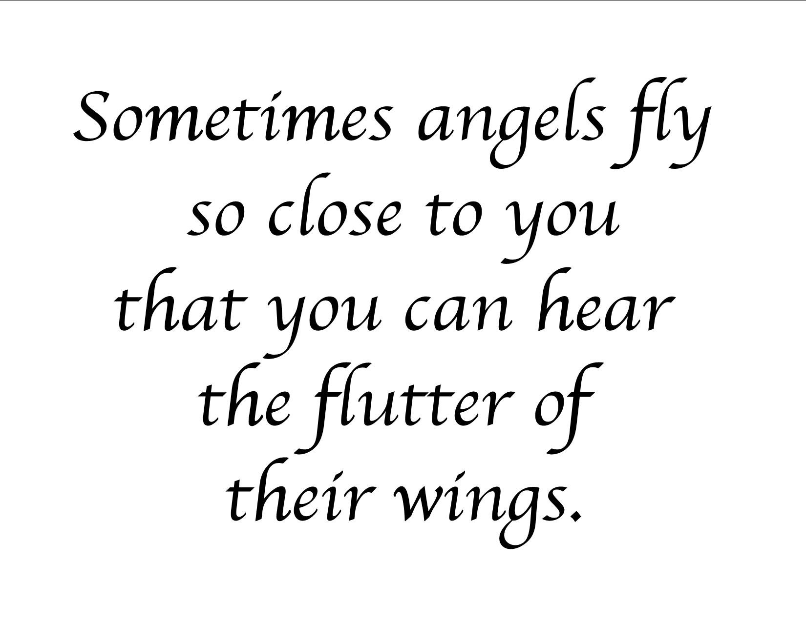 Quotes About Angel Wings. QuotesGram