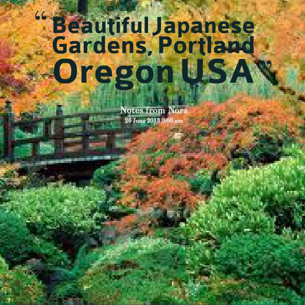 Beautiful Madam In Beautiful Garden Quotes: Quotes Japanese Garden. QuotesGram