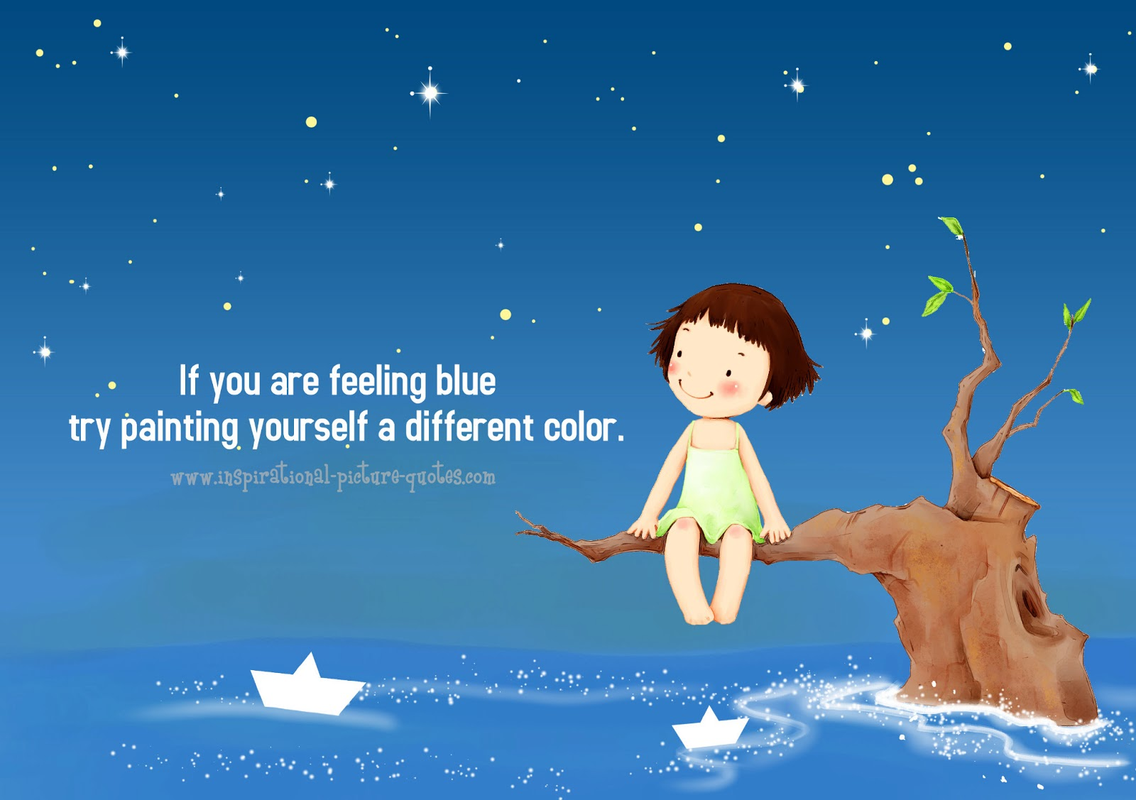 Different colors quotes quotesgram The color blue makes you feel