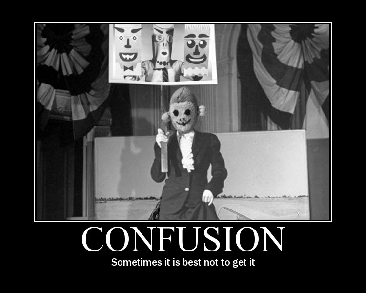 Funny Quotes About Confusion. QuotesGram