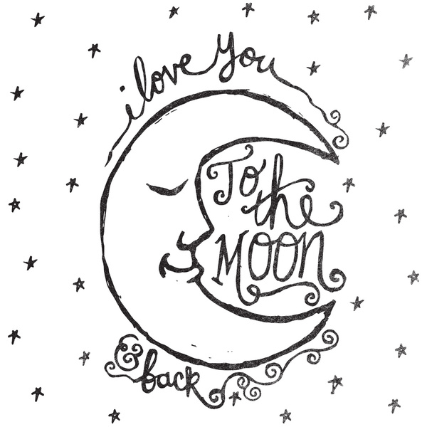 I Love You To The Moon And Back Quotes