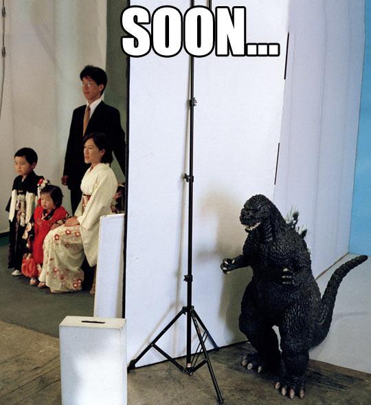 Godzilla Quotes: Godzilla Funny Quotes. QuotesGram
