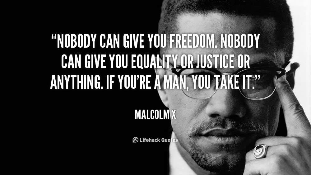 Malcolm X Quotes Equality. QuotesGram
