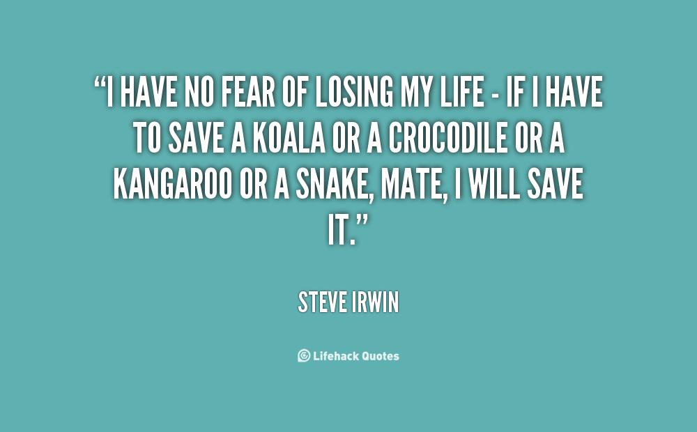 No Fear Quotes Quotesgram