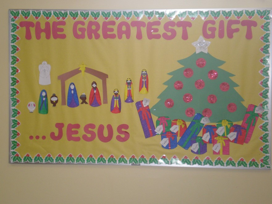 Jesus Is The Greatest Gift Craft