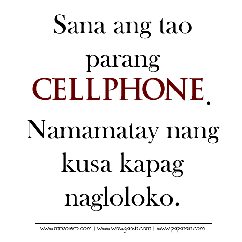 Comedy Quotes Tagalog Version: Sad Quotes Tagalog Text. QuotesGram