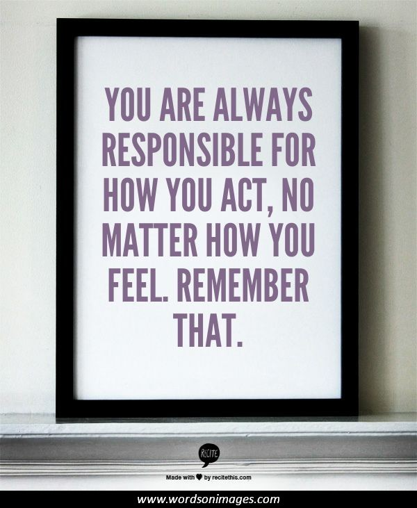 famous quotes about responsibility quotesgram