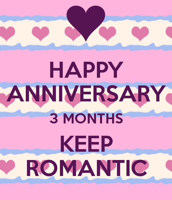 Quotes relationship 3 months anniversary Happy 3